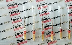 Protaper Gold Rotary Files 21 Mm F2 Dentsply Endodontics Endo