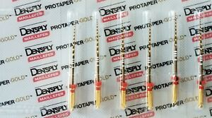 Protaper Gold Rotary Files 25 Mm F2 Dentsply Endodontics Endo