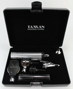 Taxxan Pocket Diagnostic Set Otoscope Ophthalmoscope Set In Hard Case New