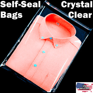 Clear Resealable Self Adhesive Seal Cello Lip Tape Plastic Bags 1 0 Mil Thick