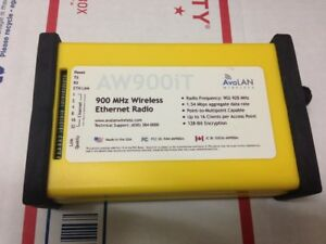 Avalan Aw900it 900 Mhz Wireless Ethernet Radio