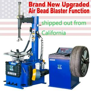Tire Changer Machine Wheel Balancer Combo 950 680 Rim Clamping Outside 10 20