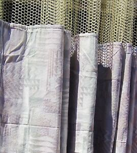 Lot Of 3 pattern Ae Hospital Privacy cubicle Curtains Flame Retardant