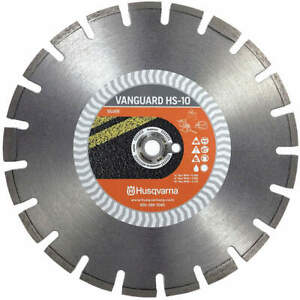 Husqvarna Diamond Saw Blade wet dry Cutting Type Vanguard Hs10 12