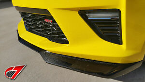 C7 Carbon 2016 2018 Camaro Zl1 Gloss Black Front Splitter For Camaro Ss