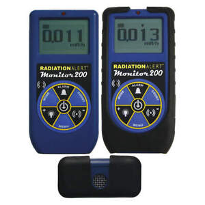 Radiation Alert Radiation Survey Meter lcd nist Monitor 200