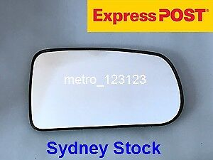 Right Driver Side Mirror Glass For Mazda 323 Bj 1998 2003