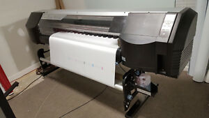 Seiko Colorpainter W64 s Large Wide Format Printer Ip 5620 Signs Priced To Sell