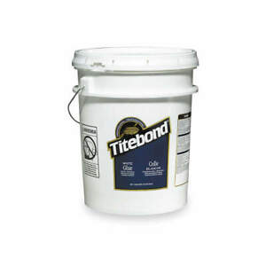 Titebond Wood Glue interior 5 Gal white 5027 White