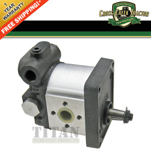 82991210 New Ford Tractor Power Steering Pump 4835 5635 7635 Tl70 Tl80