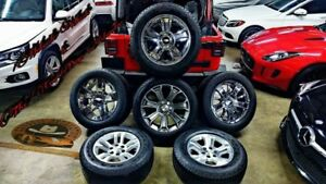 Gm Collection 18 20 22 Oem Wheel And Tires Packages Yukon Ltz Chevy