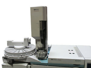 Agilent hp 7683 Automatic Liquid Sampler Autosampler Als injector And Tray