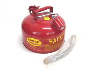 Nos Vintage Eagle 2 gallon Type Ii Safety Gas Can U2 26 s Dented