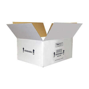 Insulated Shipping Container cardboard 53xm46