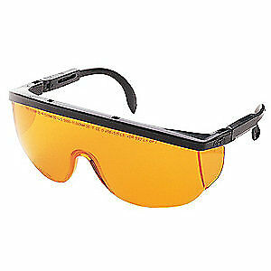 Honeywell Uvex Laser Glasses amber uncoated Lotg argon Algn
