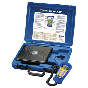 Yellow Jacket Refrigerant Scale Electronic 220 Lb 68812