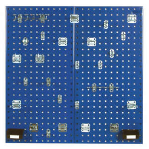 Pegbrd Panel Kit 36 squr Hole blue Lb18 bkit