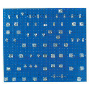 Pegbrd Panel Kit 42 1 2 squr Hole blue Lb2 bkit
