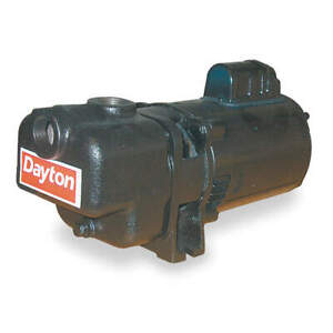 Dayton Self Priming Pump 1 1 2 Hp cast Iron 4ua71