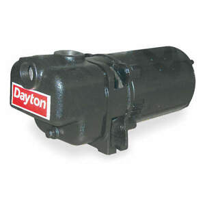 Dayton Self Priming Pump 3 4 Hp cast Iron 4ua64
