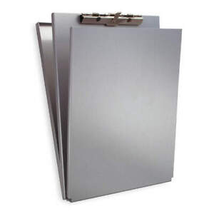 Saunders Storage Clipboard letter Sz metal silver 10017 Silver
