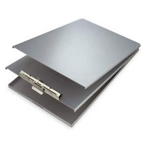 Saunders Storage Clipboard legal Sz metal silver 10019 Silver