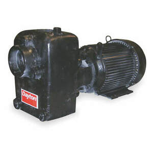 Dayton Self Priming Pump 3 Hp cast Iron 12n810