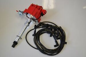 Sbc Hei Distributor Kit W Moroso 8mm Wires Under Valve Covers Ready To Install