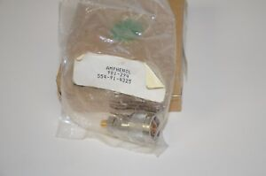 Amphenol 901 294 554 91 4325 N Male To Sma Female Adapter Brand New