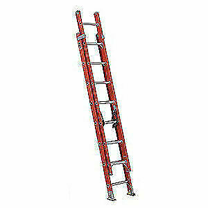 Louisville Extension Ladder fiberglass 16 Ft ia Fe3216