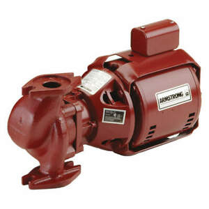 Armstrong Pumps Inc Hot Water Circulating Pump 1 12hp 174031mf 013