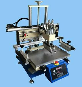 Desktop Small Silk Screen Printer Pneumatic Screen Printing Machine Suction