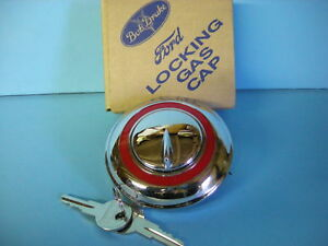 Ford Locking Gas Cap 1949 1950 1951 1952 Ford Car 1951 1970 Ford Pickup