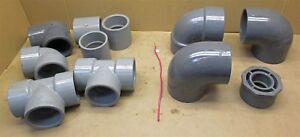3 4 Schedule 80 Pvc Fittings Assortment 11 Pieces D6540