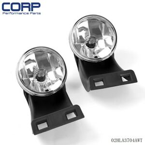 For 1994 2001 Dodge Ram 1500 2500 3500 Clear Front Bumper Fog Light Lamps