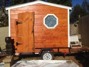 Custom Made Tiny House Camper Trailer Mobile Office