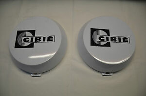 Genuine Cibie Oscar White Driving Spot Light Covers 4wd brand New