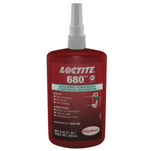Loctite Liquid 8 45 Oz retaining Compound 0 015 1835196