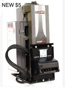 Coinco Mag50b Pro Bill Validator Acceptor New 5 For Changer Vending Machine