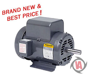 L1509t 7 5hp Single Phase Baldor Electric Compressor Motor 213t new