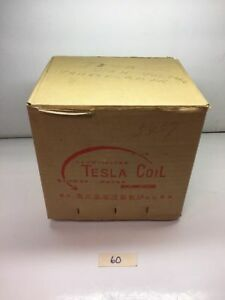 New Tesla Coil 100v High Voltage Transformer 5457 Warranty