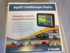 New Trimble Navigation Ag Gps Field Manager Display Part No 58270 60