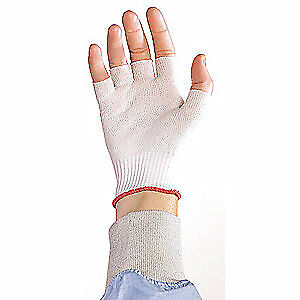 Berkshire Cleanroom Gloves nylon size L pk200 Bgl6 200lb White