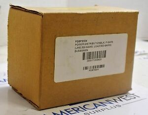 Pdbfs504 Bussmann Power Distribution Block 760a 600v New In Box