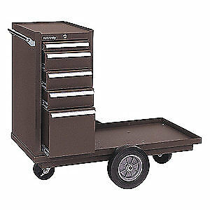 Kennedy Steel Tool Cart 43 1 8 W 20 1 4 D 435xb Brown