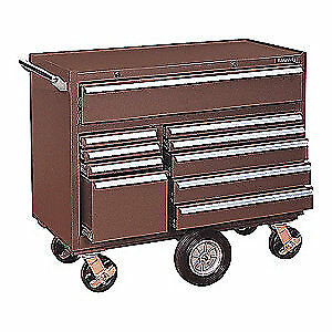 Kennedy Steel Tool Cabinet 43 3 4 W 20 D 4400mpb Brown