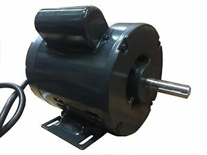 1 2 Hp X 5 8 Shaft 3450 Rpm Electric Motor Single Phase 120v 60hz