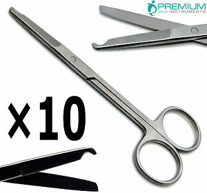 10 Surgical Littauer Spencer Stitch Scissor 4 5 Bl bl Suture Veterinary