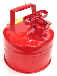 Nos Safeway Products Safe t way 1 gallon Type 1 Safety Gas Can Sc1000