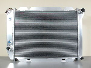 3 row Forged Aluminum Radiator Ford Galaxie 500 ltd thunderbird 1967 1968